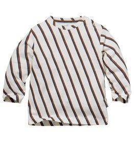 Quapi Quapi newborn baby jongens shirt Nico Multi Stripe