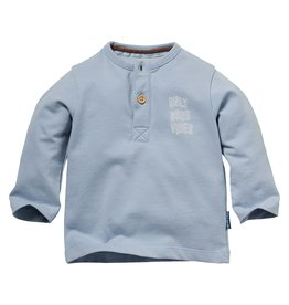 Quapi Quapi newborn baby jongens shirt Nelson Baby Blue