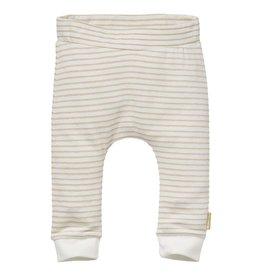 Quapi Quapi newborn neutraal joggingbroek Noam Sand Stripe