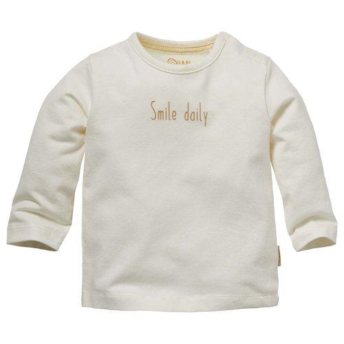 Quapi Quapi newborn neutraal shirt Nano Off White