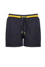 NoBell NoBell meiden sporty korte joggingbroek Senna Grey Navy