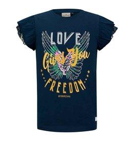 RETOUR Retour meiden t-shirt Anais Navy