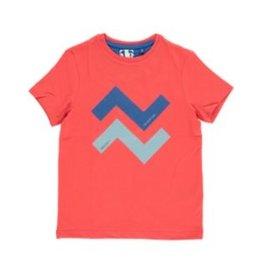 Mister-T Mister-T jongens t-shirt Zero Orange