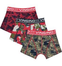 Vingino Vingino jongens Limited Edition ondergoed boxers 3-pack Camoutrip