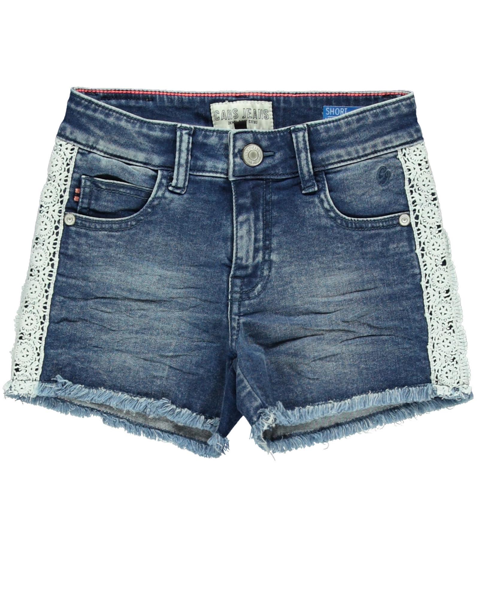 Cars Cars meisjes korte jeans Dita Stone Used
