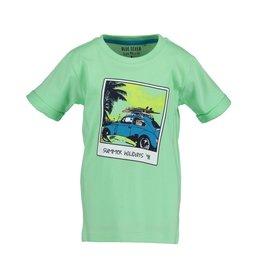 Blue Seven Blue Seven jongens t-shirt Beach Court Green