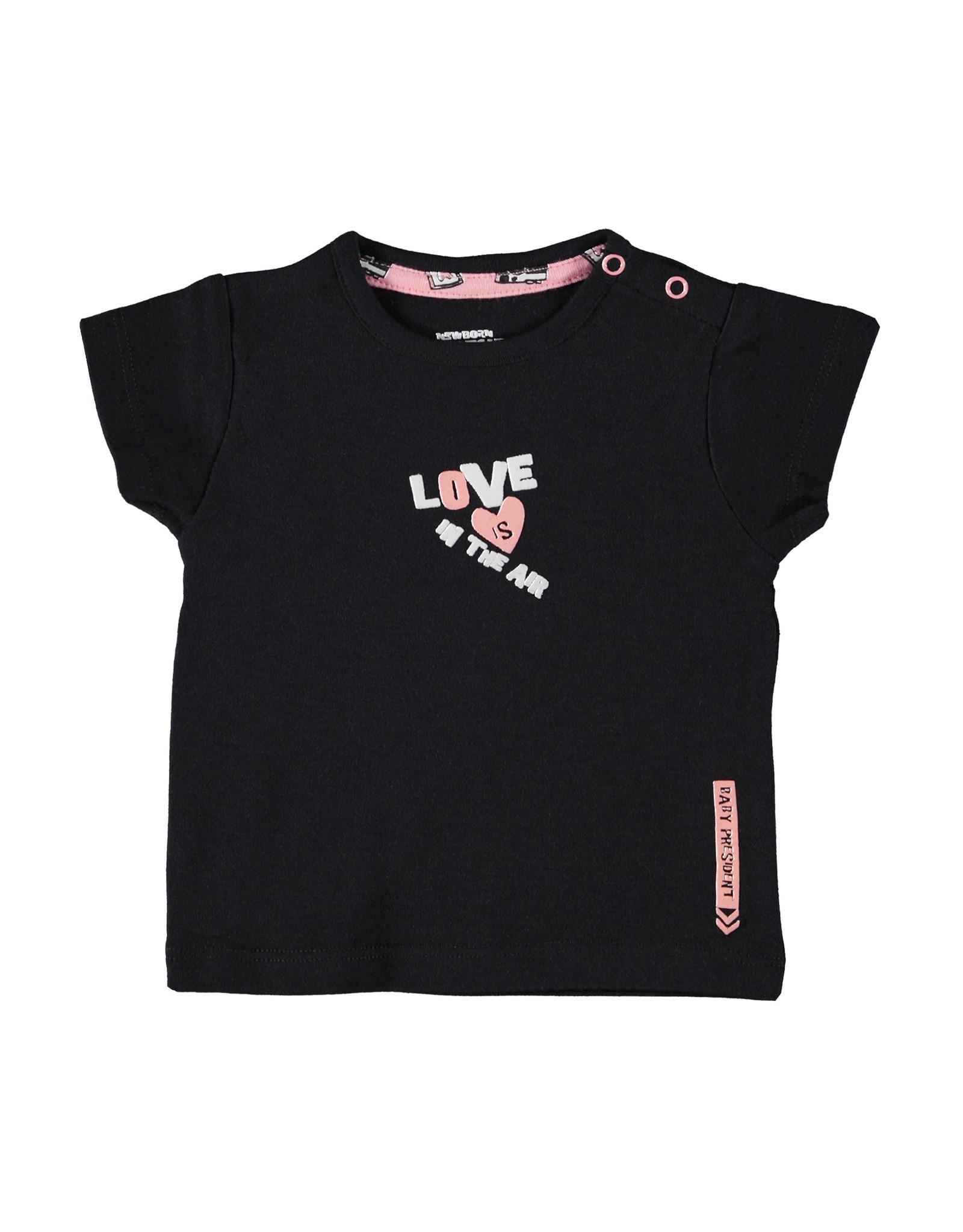 4President 4President baby meisjes t-shirt Kaia Black