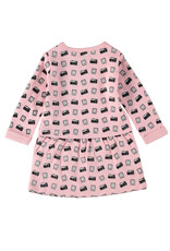 4President 4President baby meisjes jurk Serena Pink aop