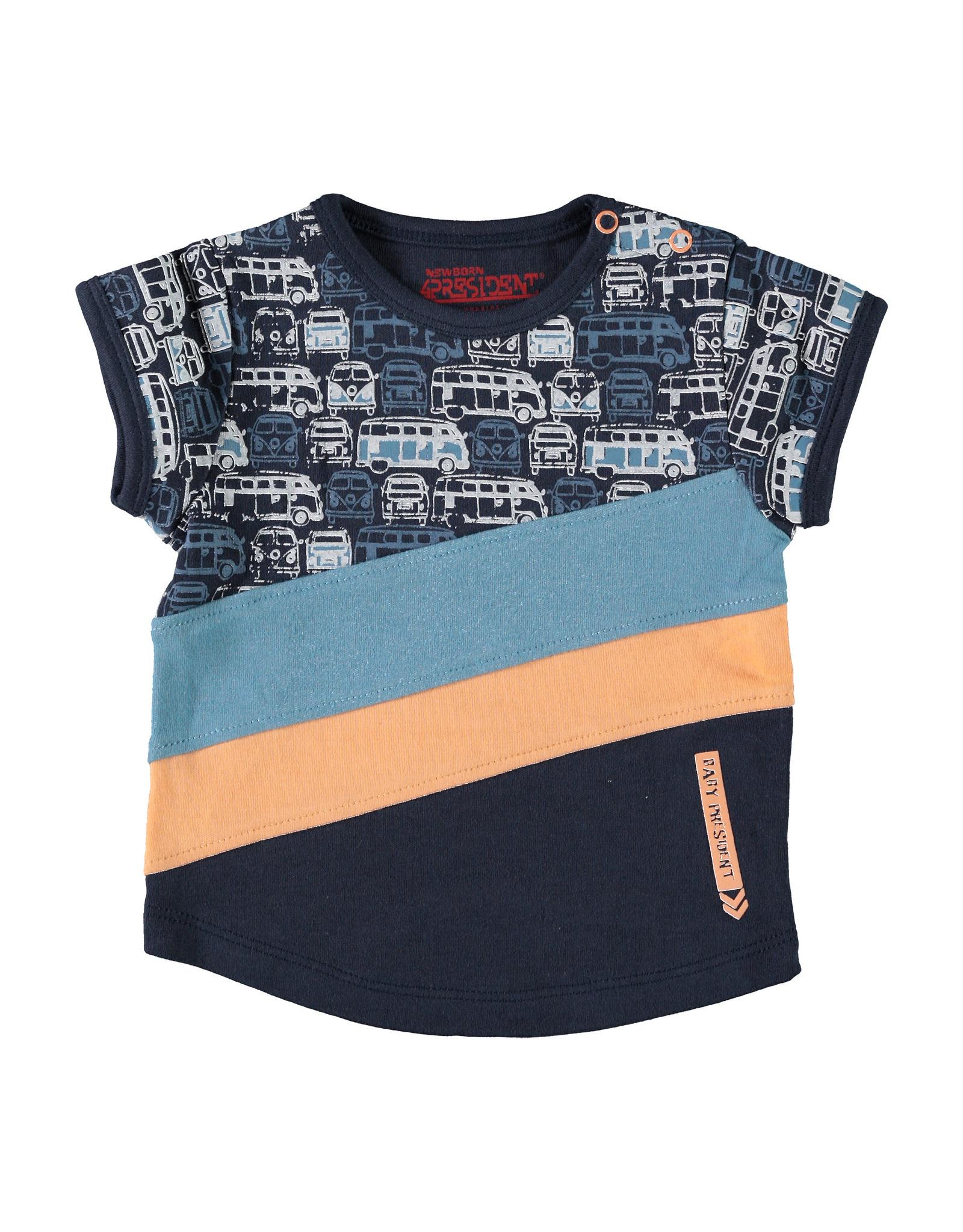 4President 4President baby jongens t-shirt Jacob Navy
