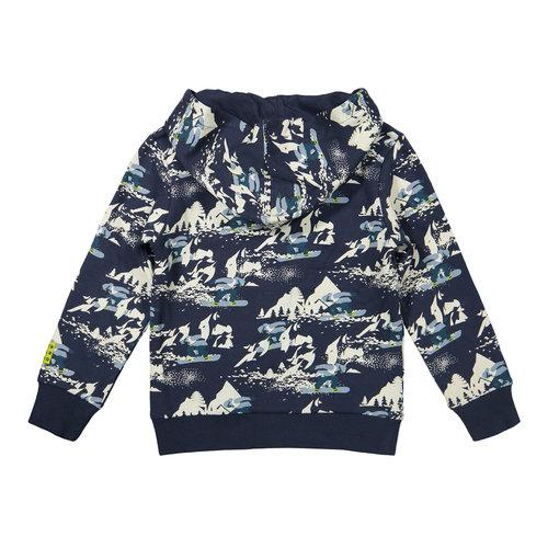 DJ Dutchjeans DJ Dutchjeans jongens hoodie Boarding Navy