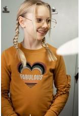 DJ Dutchjeans DJ Dutchjeans meisjes sweater Fabulous Camel