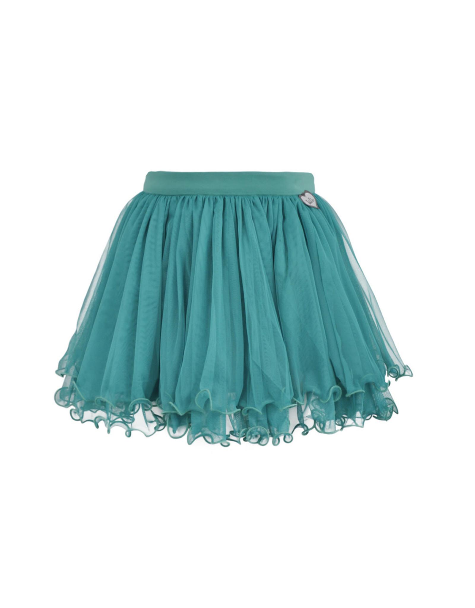 LoFff Loff meiden petticoat rok Ocean Green