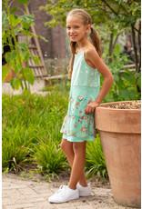 LoFff Loff meiden mouwloze jurk Gold Strap Mint