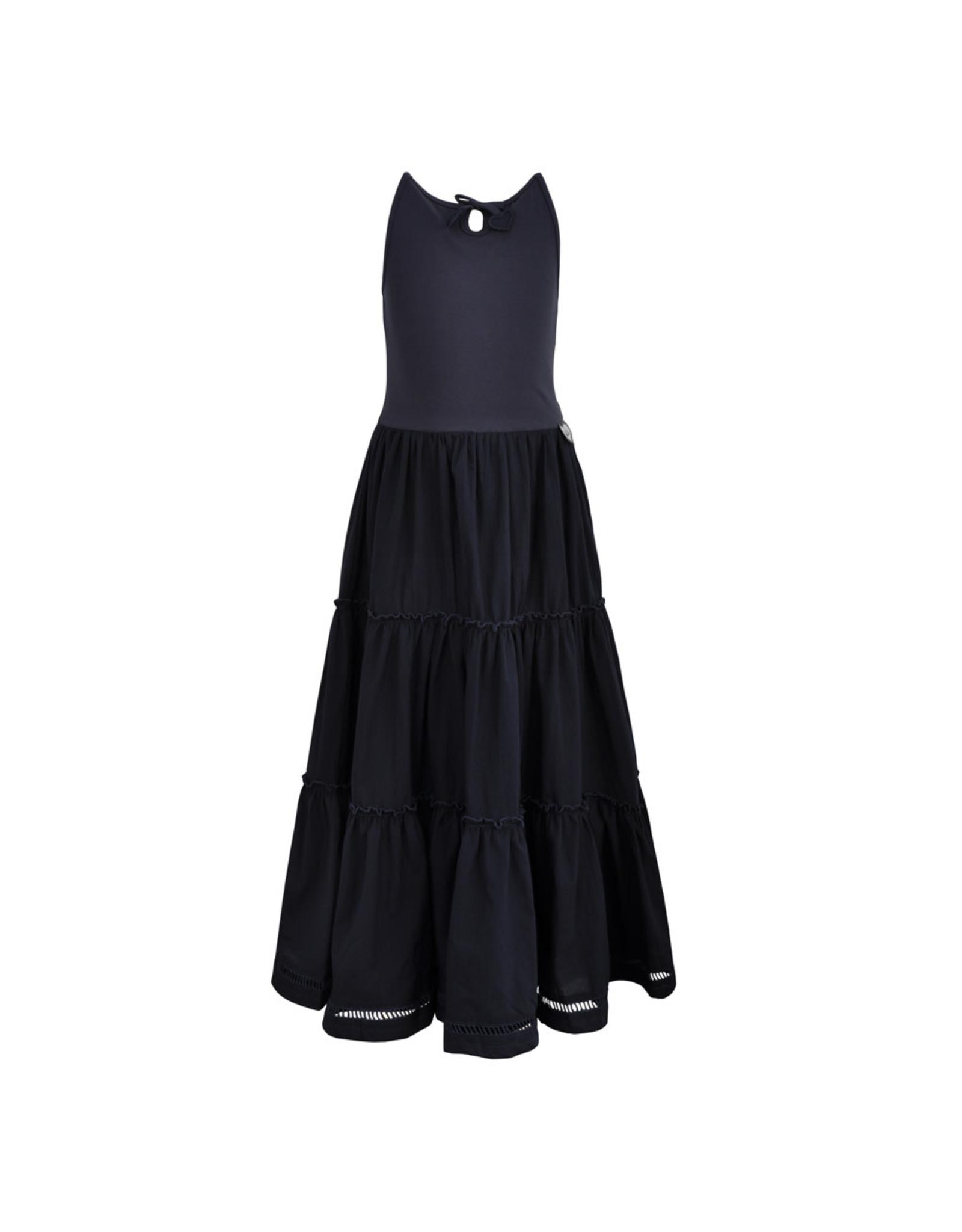 LoFff Loff meiden mouwloze jurk maxi Dark Blue