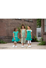 LoFff Loff meiden mouwloze jumpsuit Mint Flower