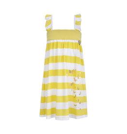 LoFff Loff meiden mouwloze jurk Block Stripe Yellow