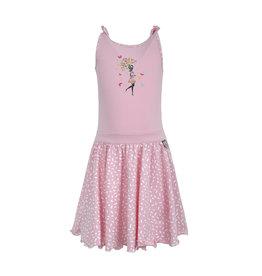 LoFff Loff meiden mouwloze jurk Loffely V-back Bubblegum