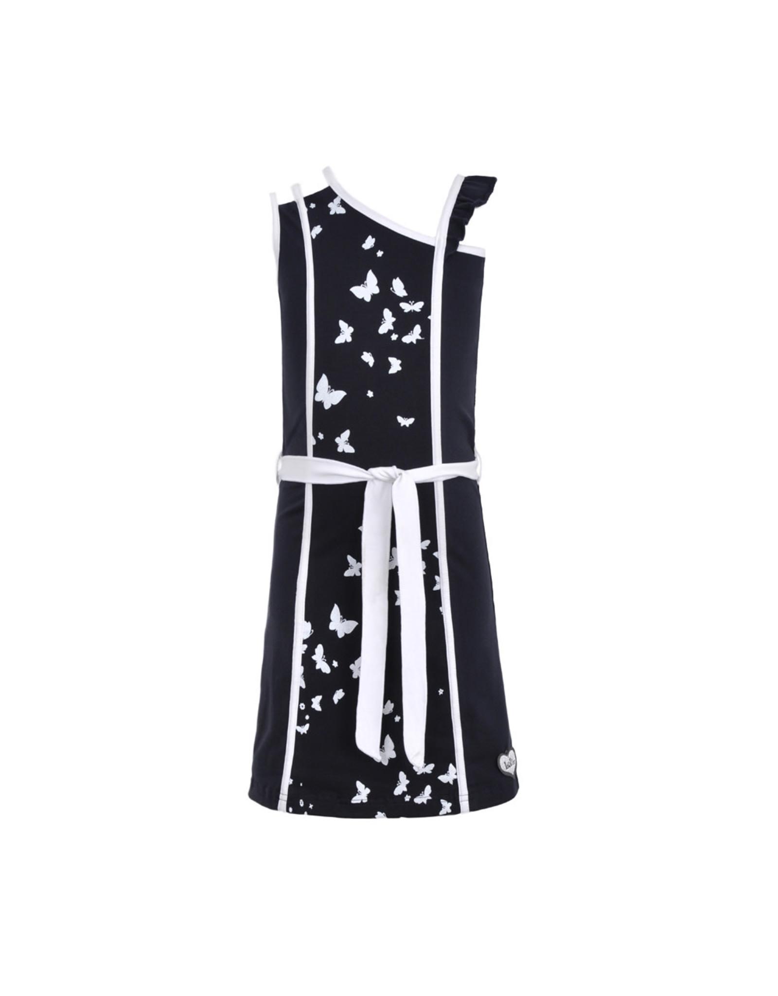 LoFff Loff meiden mouwloze jurk Fancy Blue Print