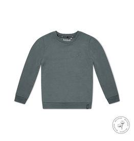Koko Noko Koko Noko jongens Bio Cotton sweater Neill Faded Green