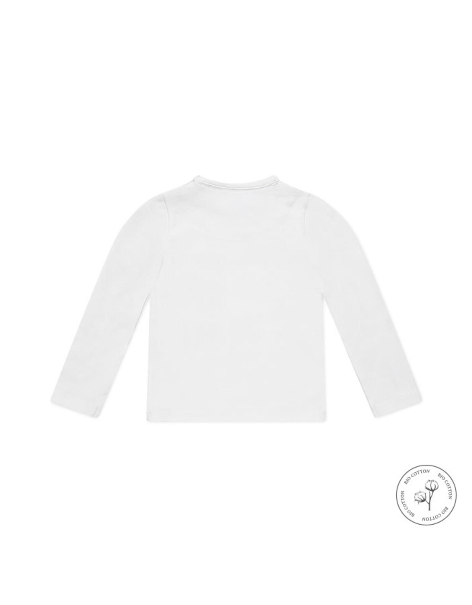 Koko Noko Koko Noko jongens Bio Cotton shirt Nate White