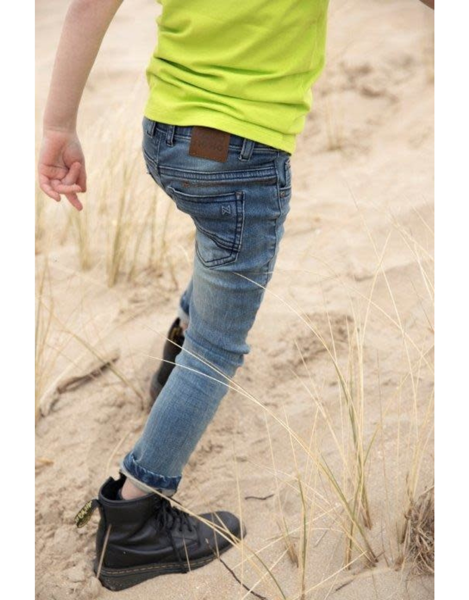 Koko Noko Koko Noko jongens Bio Cotton jeans Nox Blue