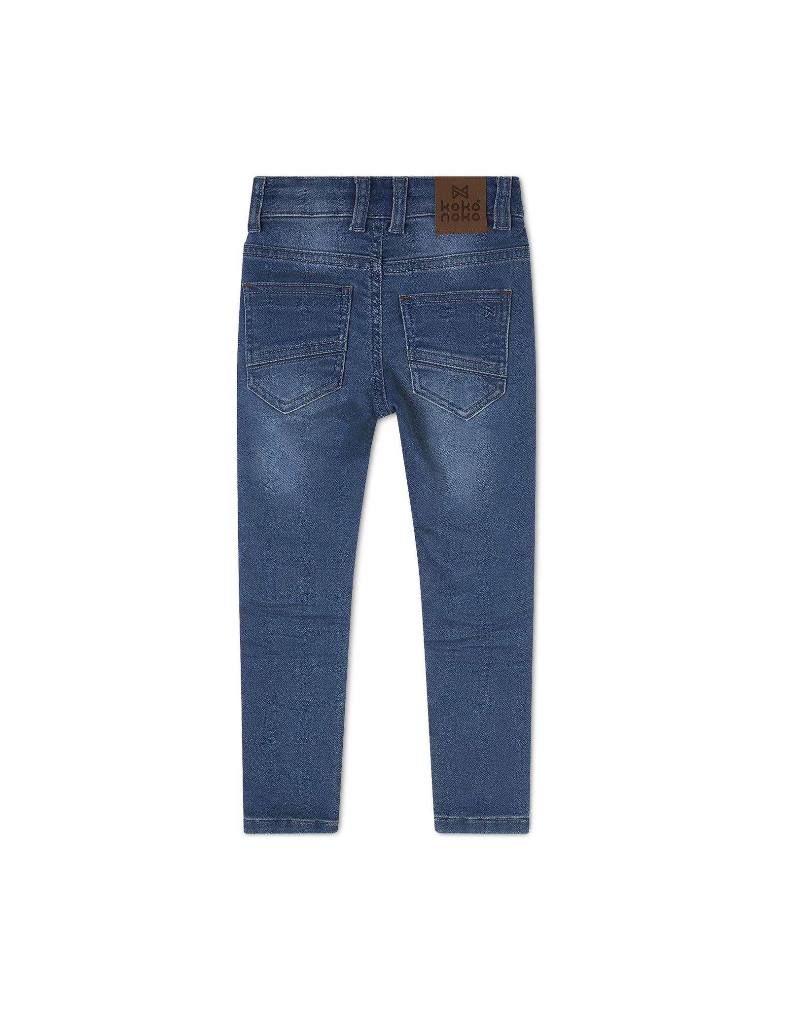 Koko Noko Koko Noko jongens Bio Cotton jeans Novan Blue