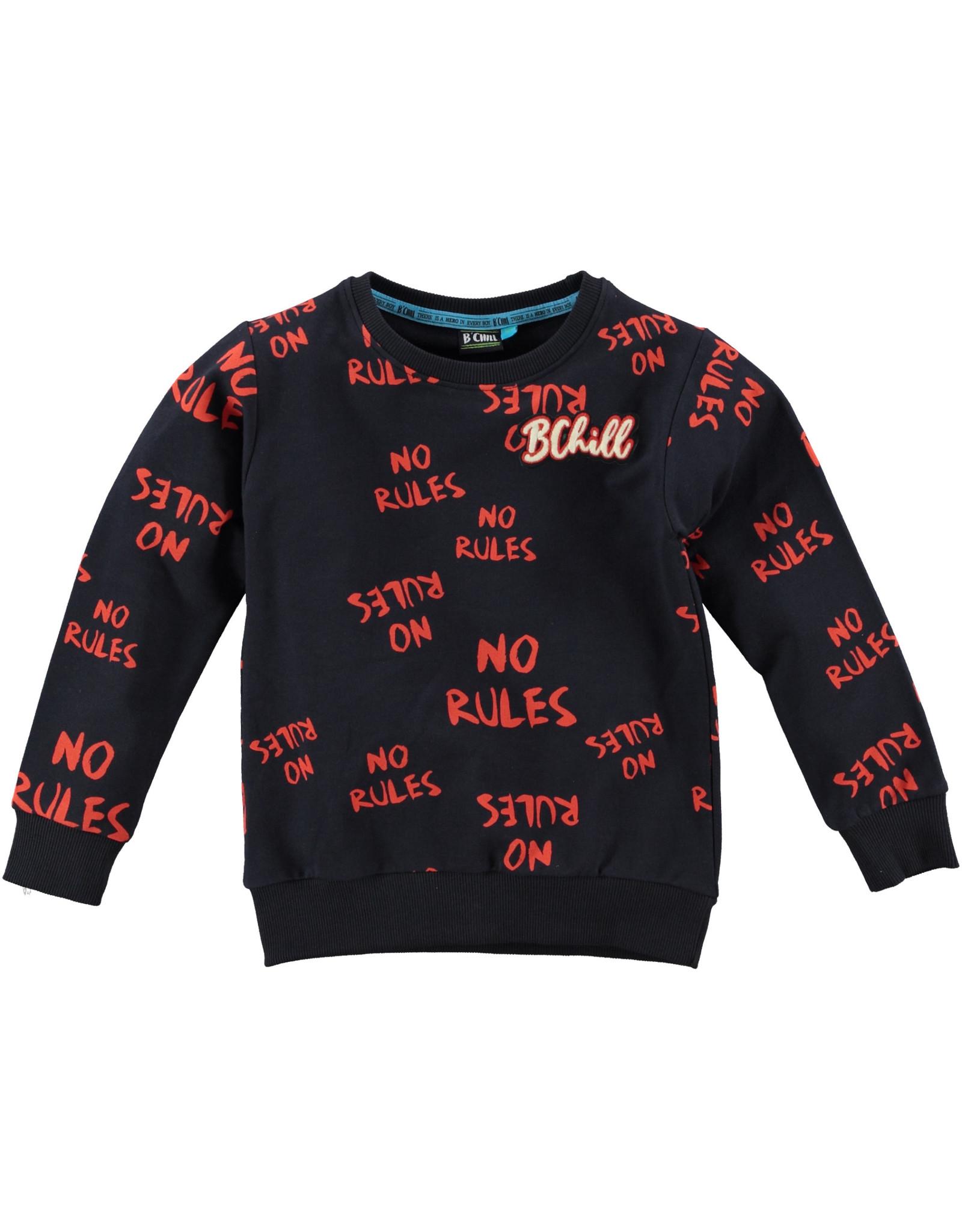 B'Chill B'Chill jongens sweater Bram Navy