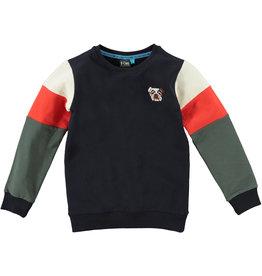 B'Chill B'Chill jongens sweater Leo Navy