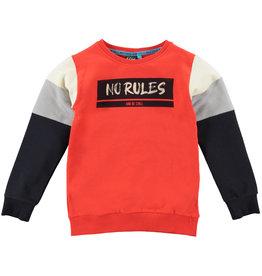 B'Chill B'Chill jongens sweater Jeroen Orange