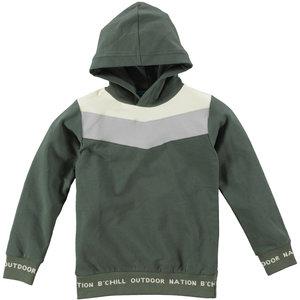B'Chill B'Chill jongens hoodie Giel Green