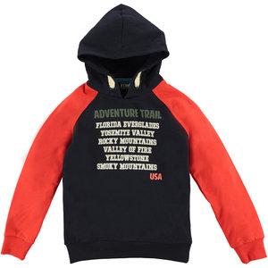 B'Chill B'Chill jongens hoodie Huib Navy