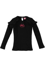 O'Chill O'Chill meiden shirt Isabeau Black