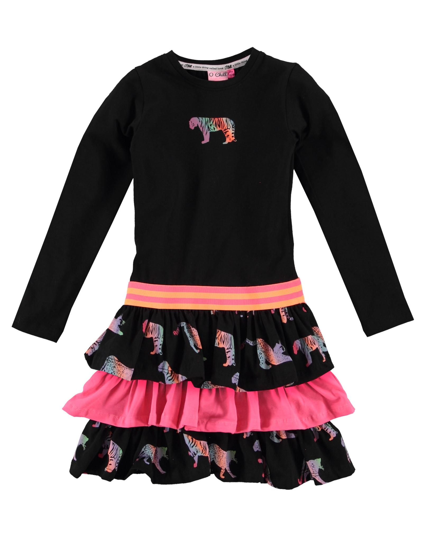 O'Chill O'Chill meiden jurk Lotte Multicolor