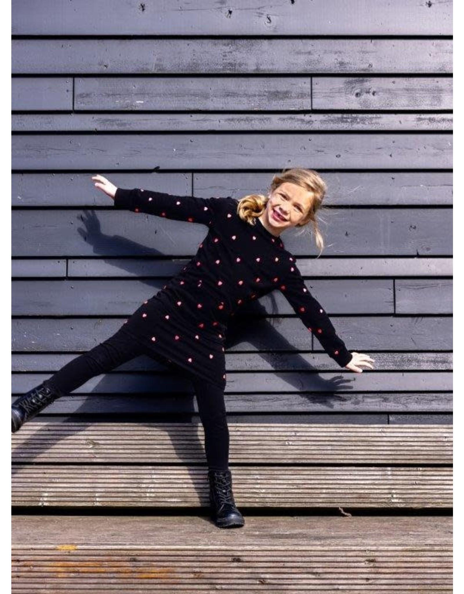 O'Chill O'Chill meiden jurk Daphne Black
