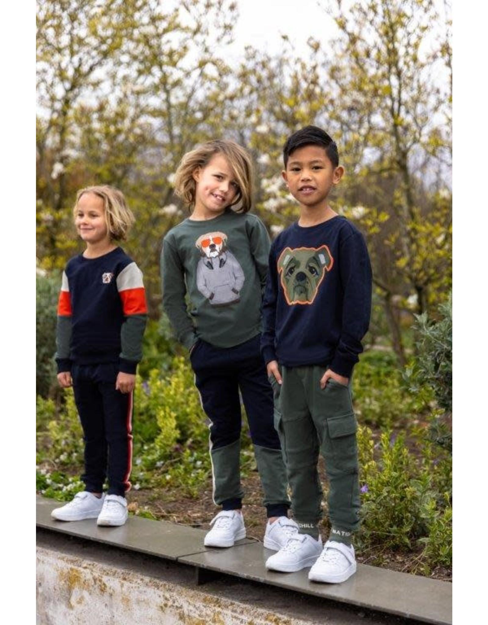B'Chill B'Chill jongens shirt Chip Green