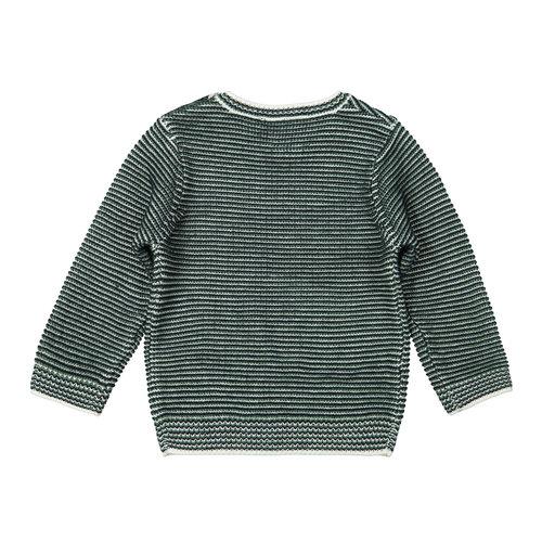 Koko Noko Koko Noko jongens gebreide sweater Stripe Green