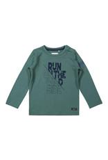 Koko Noko Koko Noko jongens shirt Run on the Wild Side Green