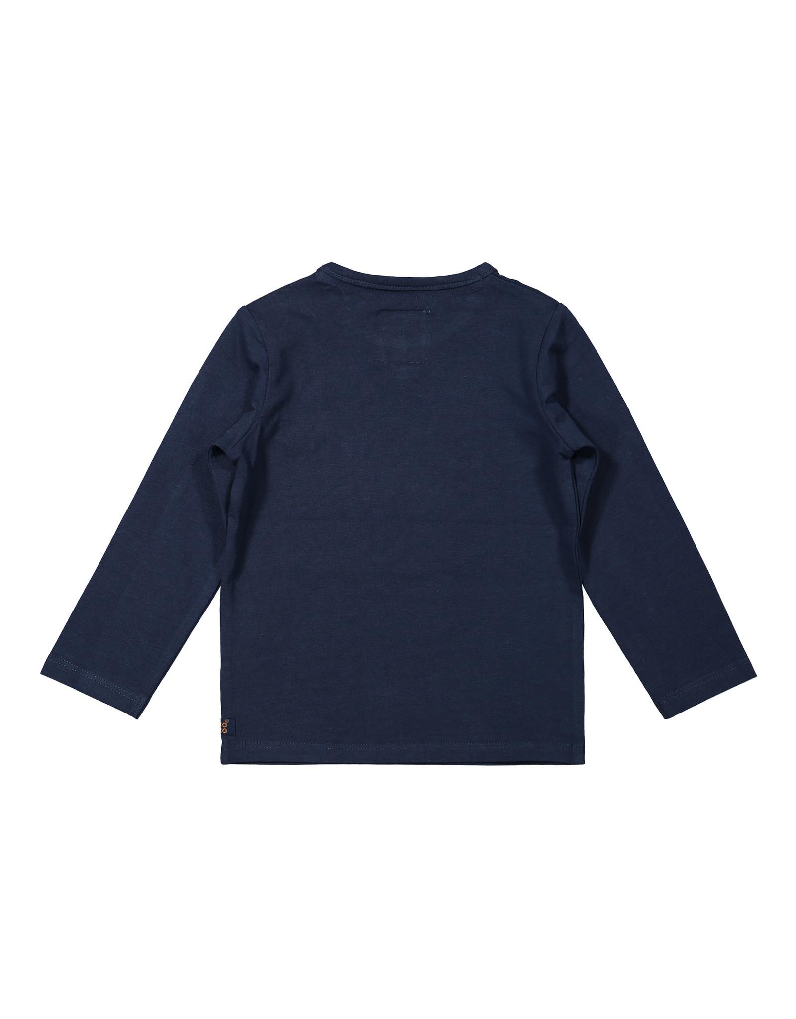 Koko Noko Koko Noko jongens shirt Branches Navy