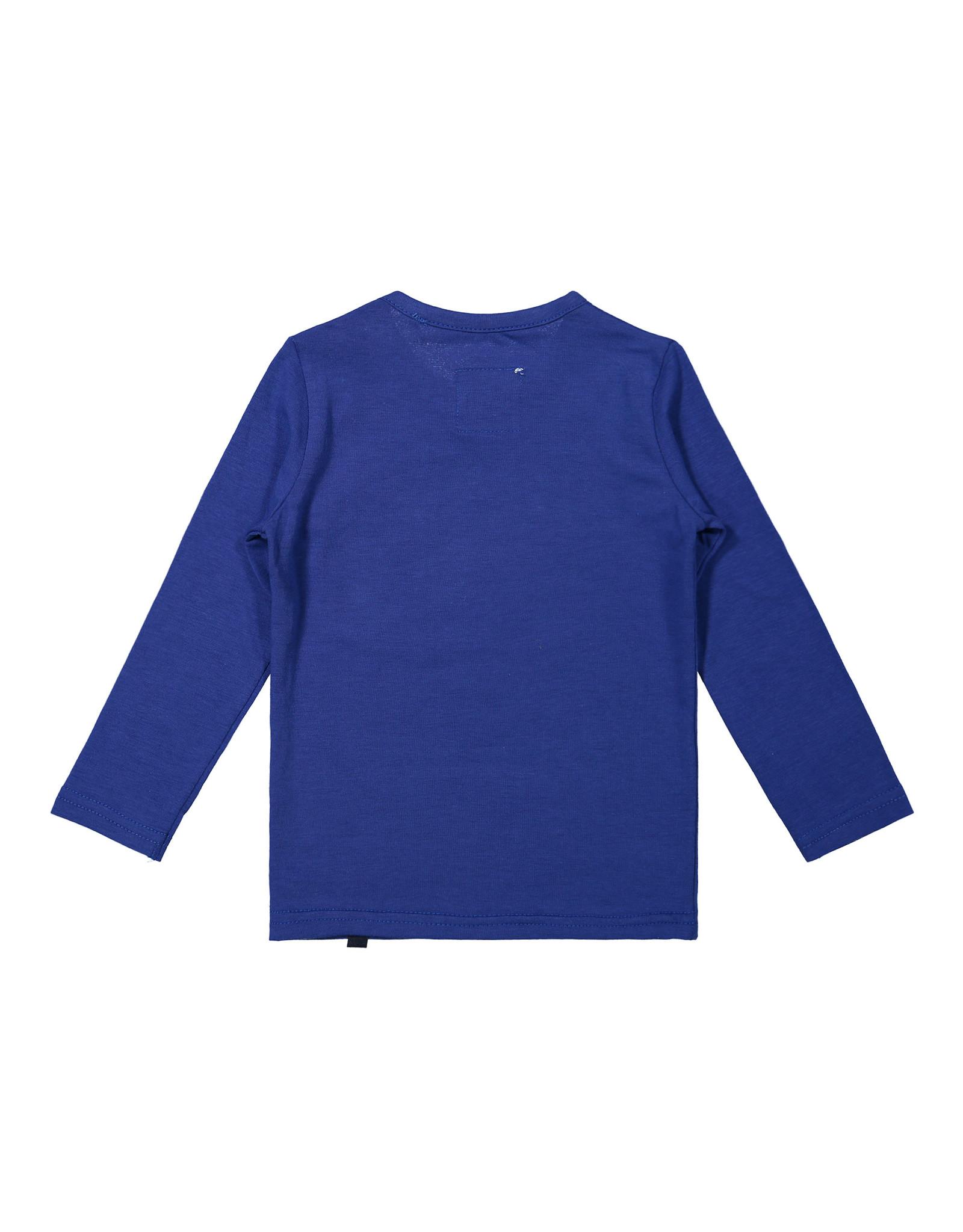 Koko Noko Koko Noko jongens shirt Don't Wake the Bear Blue