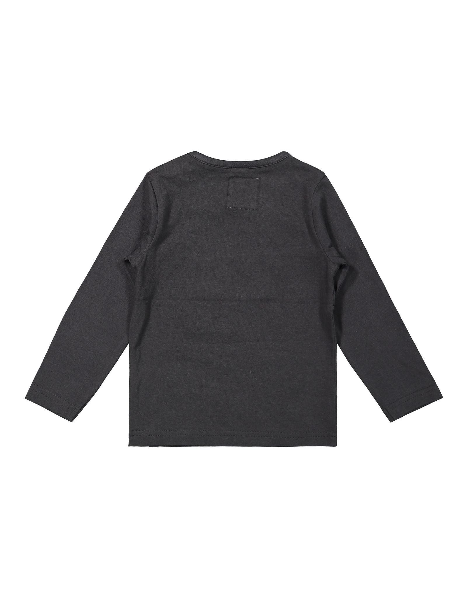 Koko Noko Koko Noko jongens shirt World Travellers Dark Grey