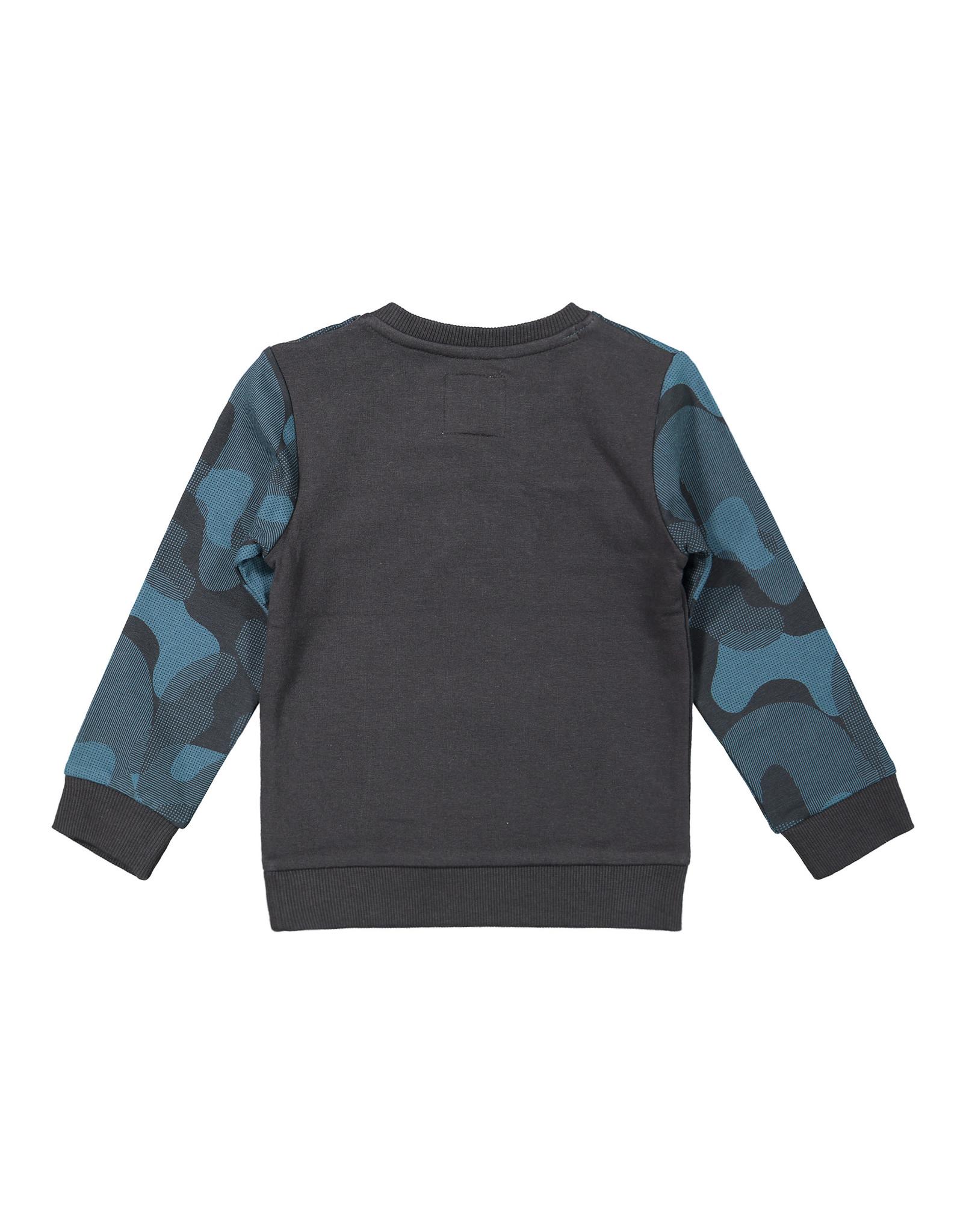 Koko Noko Koko Noko jongens sweater Explorer Dark Grey