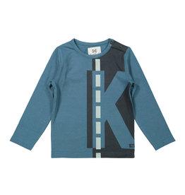 Koko Noko Koko Noko jongens shirt Capital K Petrol Grey