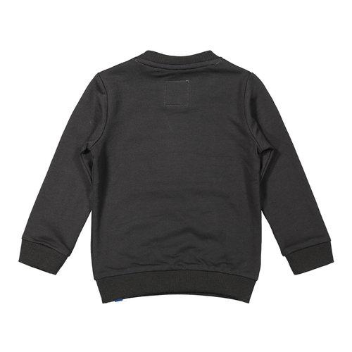 Koko Noko Koko Noko jongens sweater Logo Dark Grey