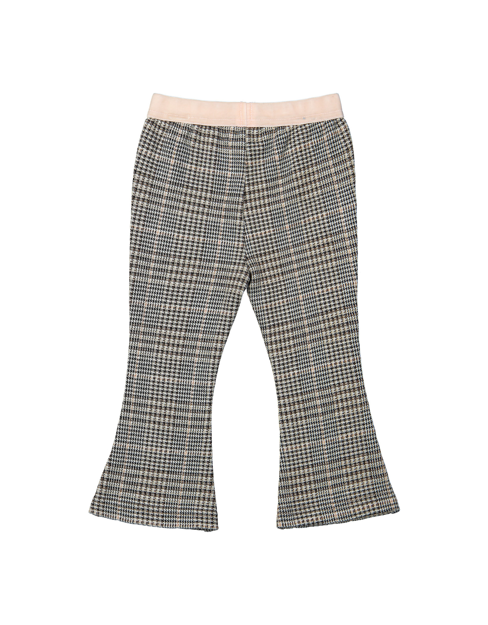 Koko Noko Koko Noko meisjes geruiten flaired pants Grey