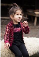 Koko Noko Koko Noko meisjes shirt Fashion Rebel Black
