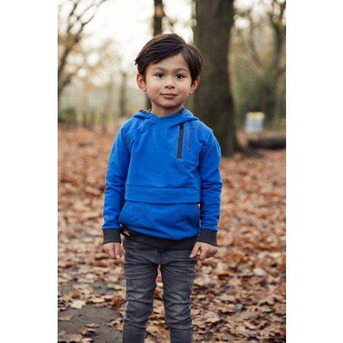 Koko Noko Koko Noko jongens hoodie Yong Travellers Bright Blue