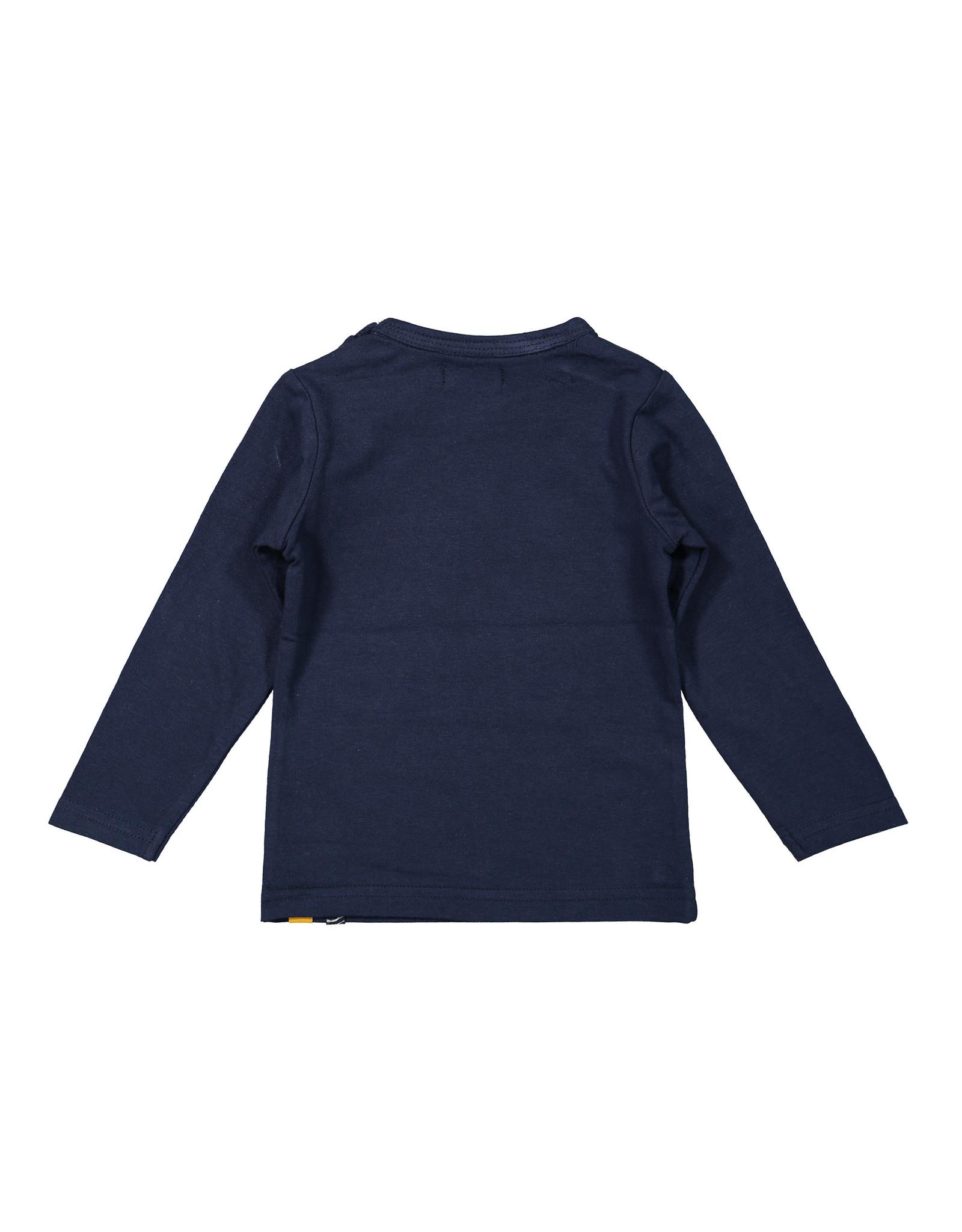 Dirkje Dirkje baby meisjes shirt Wild One Navy