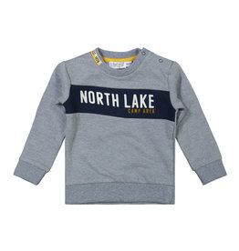 Dirkje Dirkje baby jongens sweater North Lake Jeans Blue