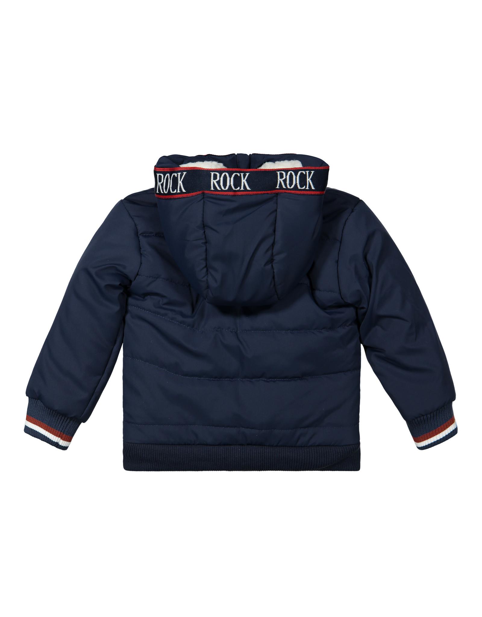 Dirkje Dirkje baby jongens winterjas Rock Navy