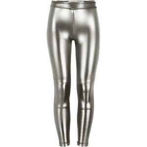 4President 4President meisjes fake leather legging Paris Silver